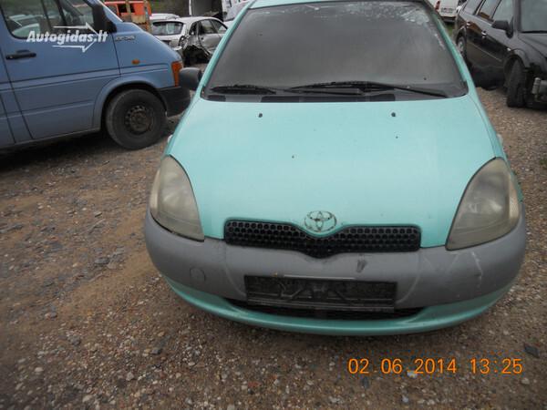 Toyota Yaris I 1999 m. dalys