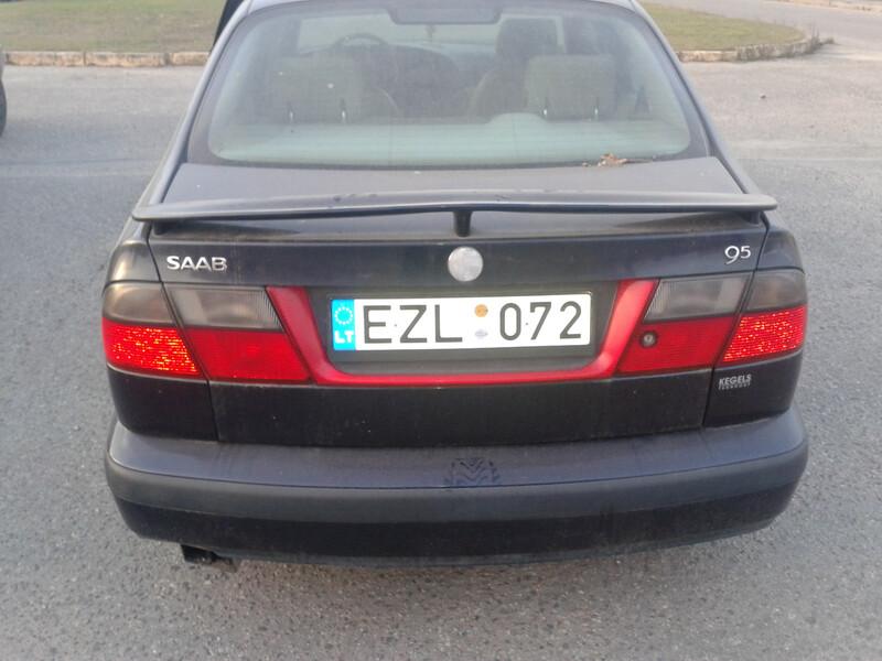 Saab 9-5 1999 m dalys