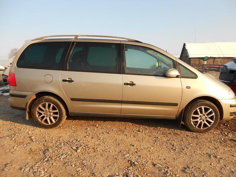 Volkswagen Sharan I 2008 y. parts