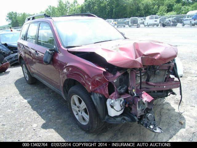 Subaru Forester III 2010 m dalys