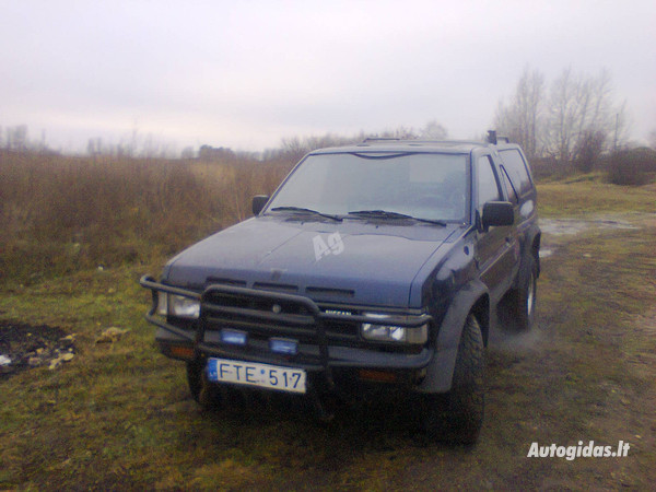 Nissan Terrano I 1991 m dalys