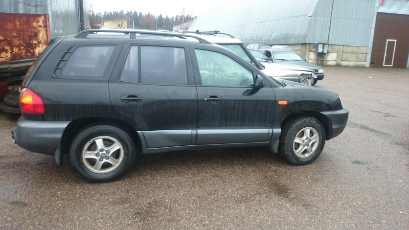 Hyundai Santa Fe I 2004 m dalys