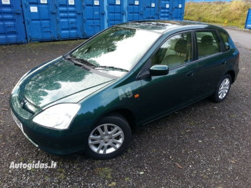 Honda Civic VII 2001 y. parts
