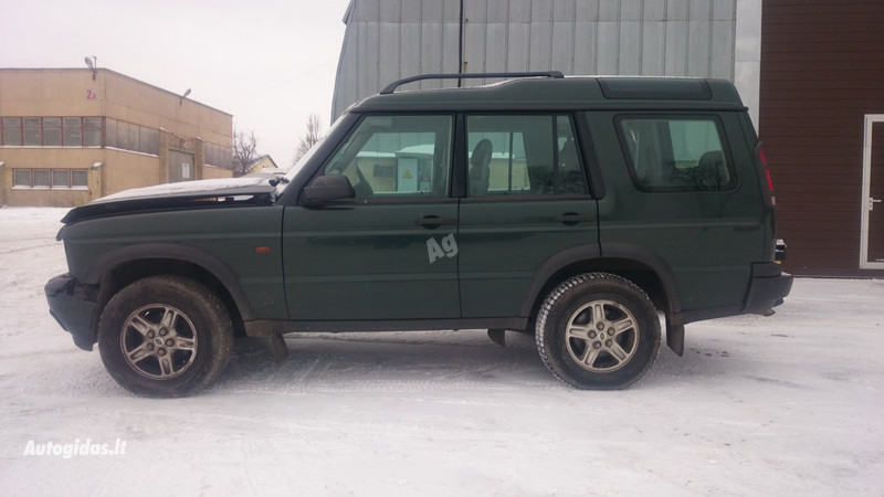 Land-Rover Discovery II 2001 y. parts