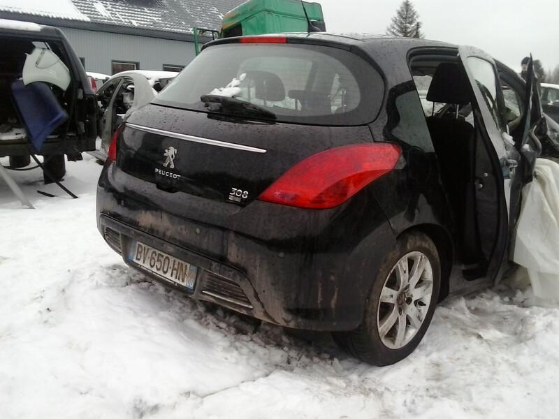 Peugeot 308 2011 m dalys