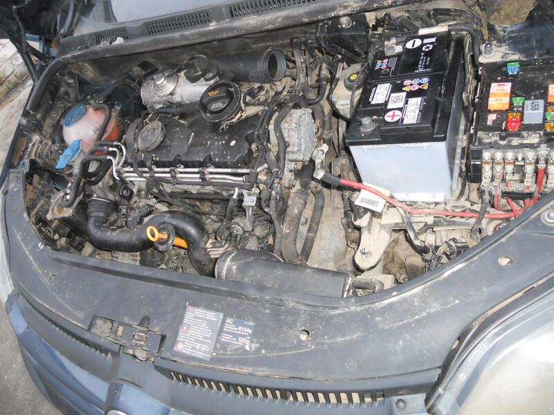 Volkswagen Golf Plus 2007 m dalys