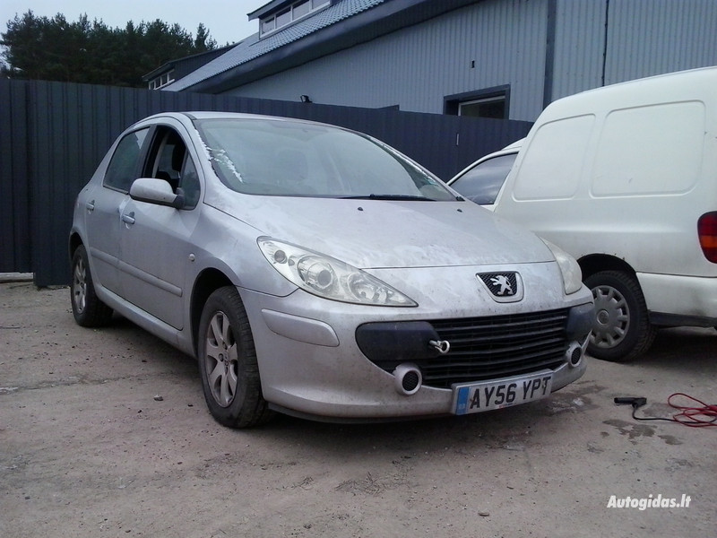 Peugeot 307 II 2006 m. dalys