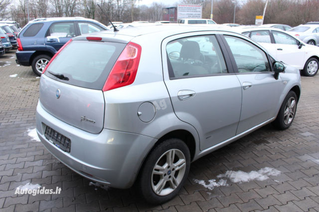 Fiat Grande Punto 2007 m dalys