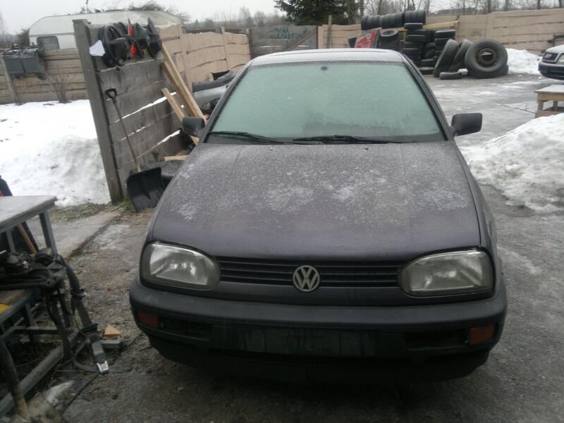 Volkswagen Golf III 1.4 44 kw 1993 m. dalys