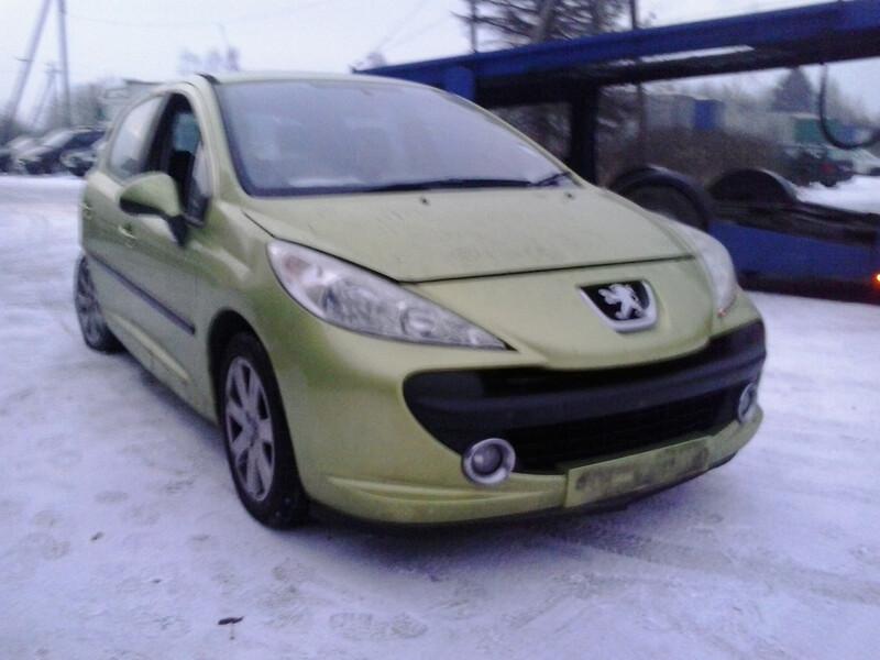 Peugeot 207 2007 y. parts