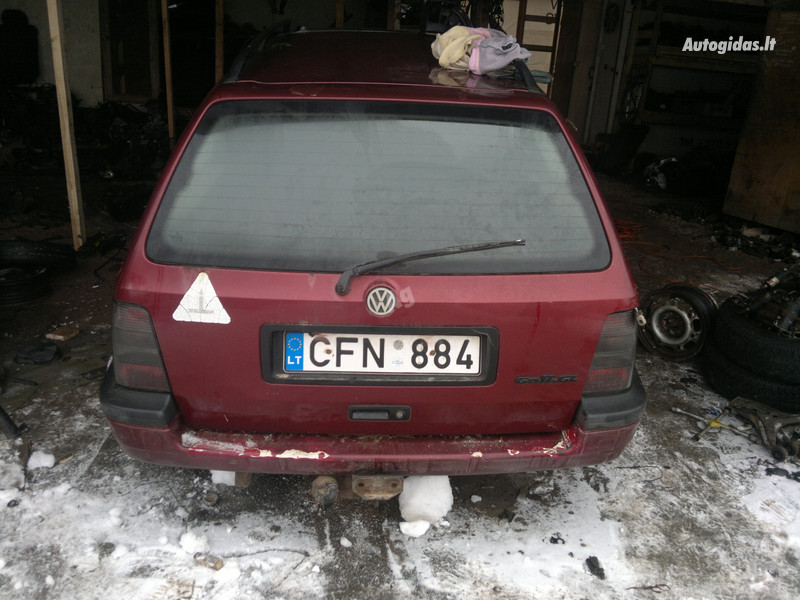 Volkswagen Golf III 1.9td  1995 y. parts