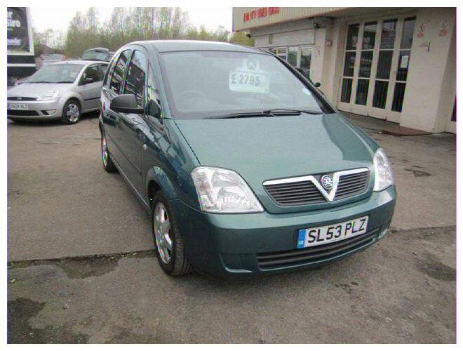 Opel Meriva I 1.6 2004 m dalys
