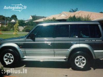 Mitsubishi Pajero II 1997 m dalys