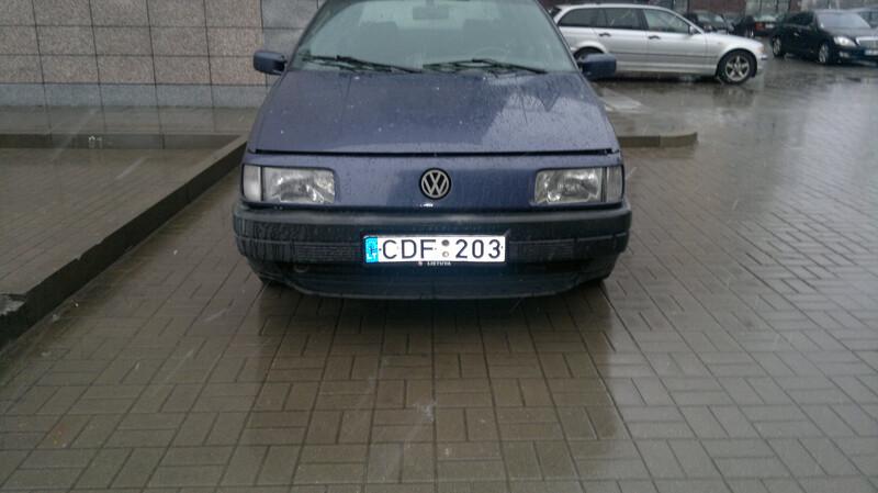Volkswagen Passat B3 2.0ariva be duju 1992 m. dalys