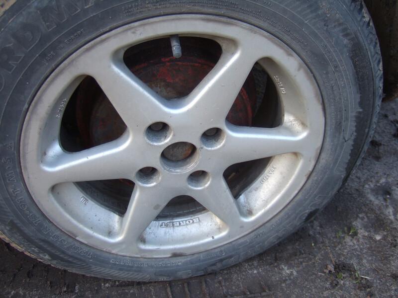 Audi 80 R15 литые диски
