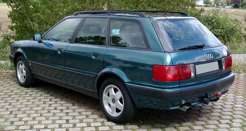 Audi 80 B4 1993 y parts
