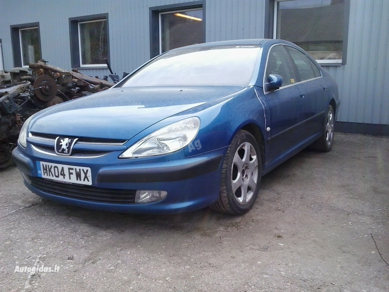 Peugeot 607 2003 m. dalys