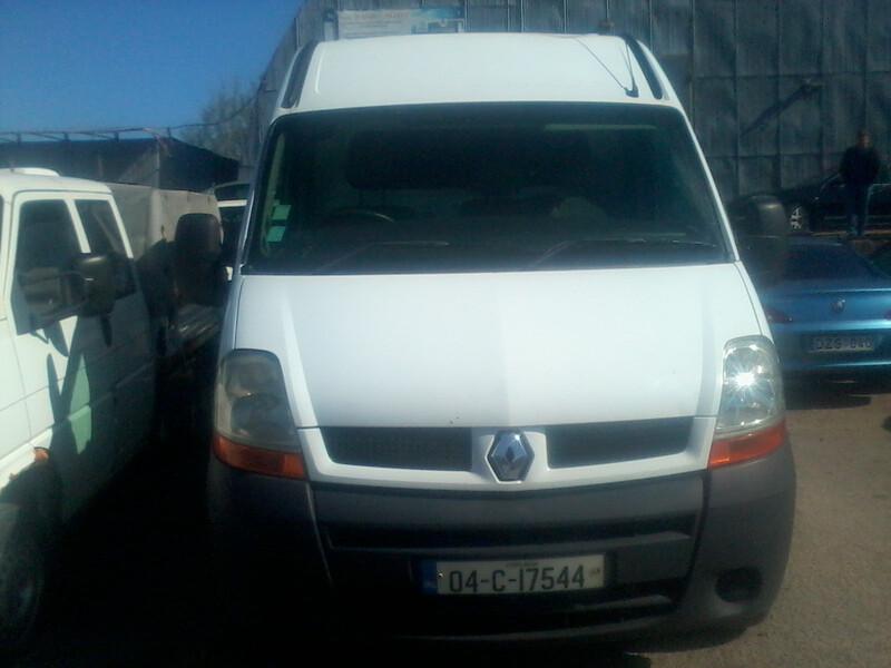 Renault Master III 2004 m dalys