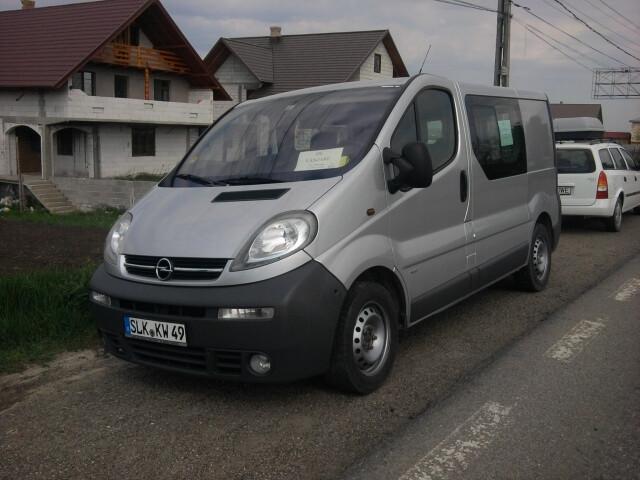 Opel Vivaro I dci 2003 m dalys