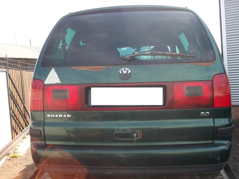 Volkswagen Sharan I 2001 m. dalys