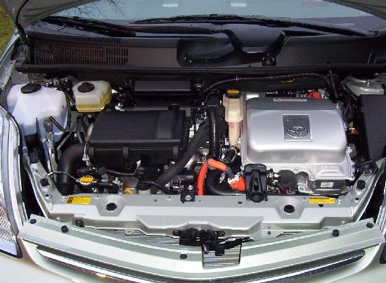 Toyota Prius I (1997 - 2000) 2007 m. dalys
