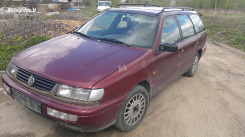 Volkswagen Passat B4 ELEKTRA 2.0 85KW 1995 m. dalys