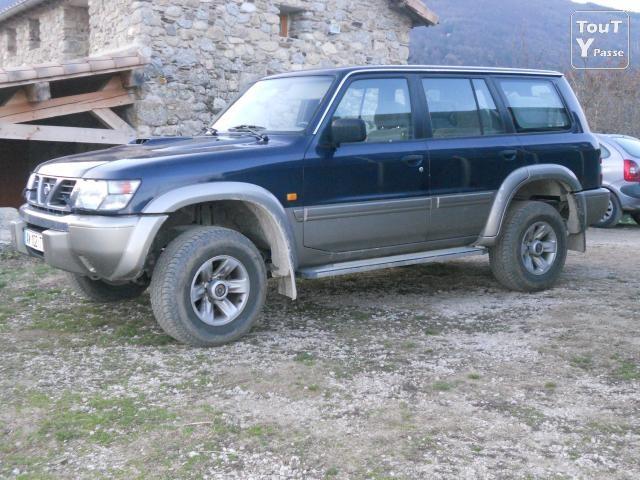 Nissan Patrol GR II Y61 2001 m dalys