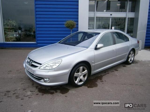 Peugeot 607 2005 m dalys