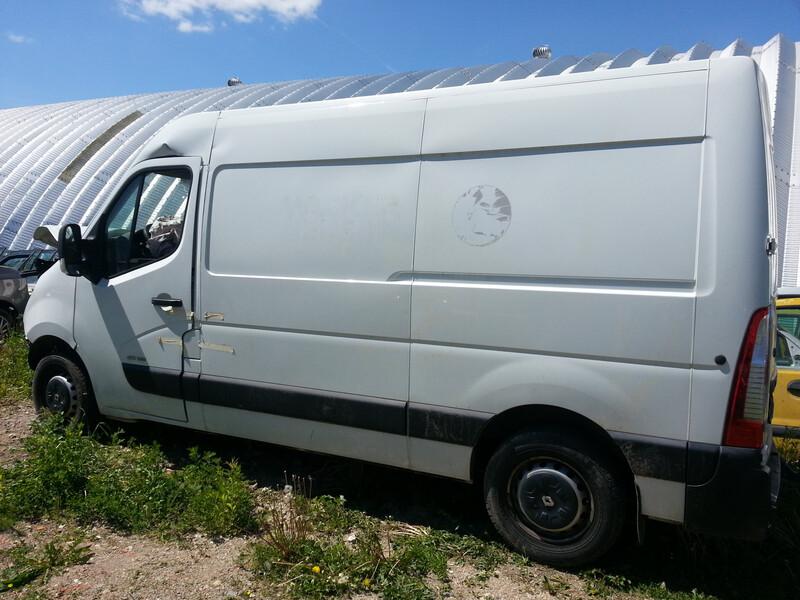 Renault Master IV 2011 m dalys