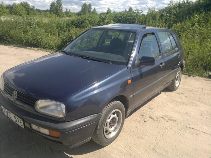 Volkswagen Golf III 1.8 automat idialus 1995 m. dalys