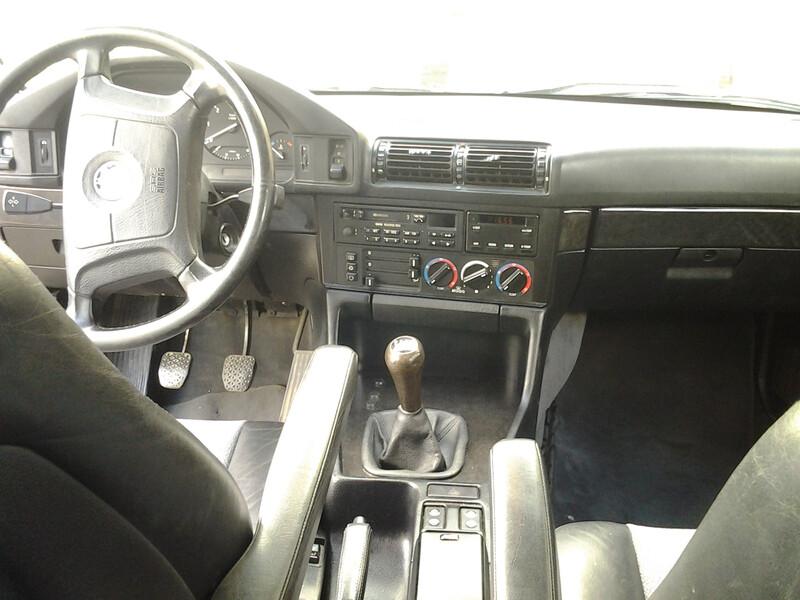 Bmw 525 E34 tds 1992 m. dalys