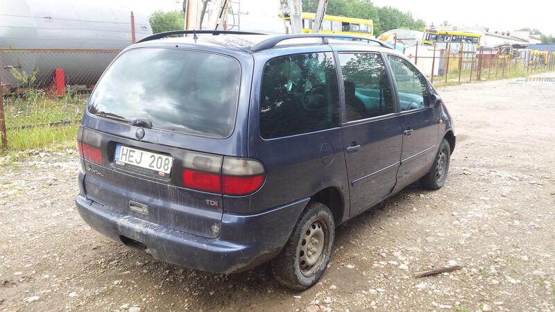 Volkswagen Sharan I 1998 m dalys