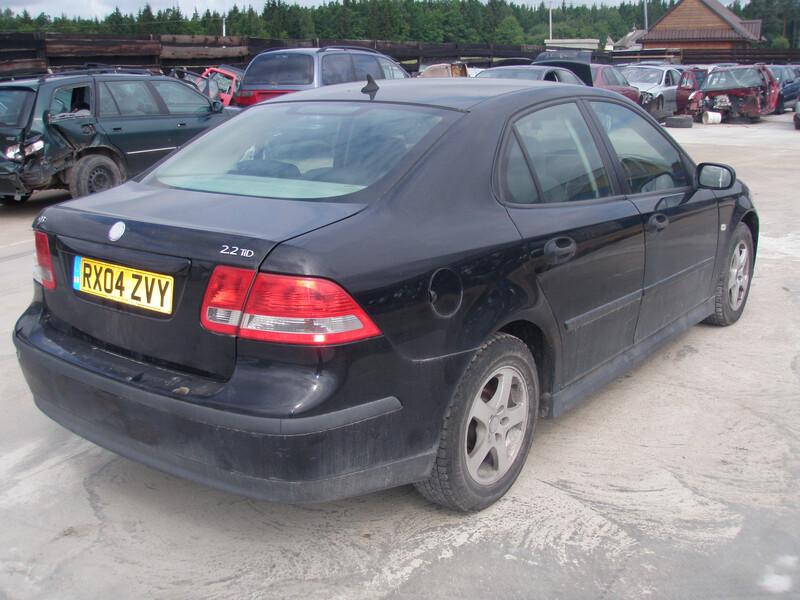 Saab 9-3 II 2004 m dalys