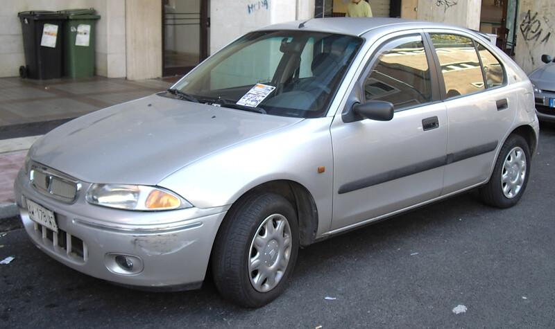 Rover 200 1998 m dalys