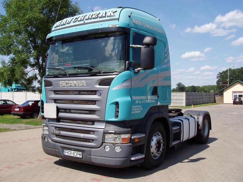 Scania, Sunkvežimis virš 7,5t.  Scania R420 2005 m dalys