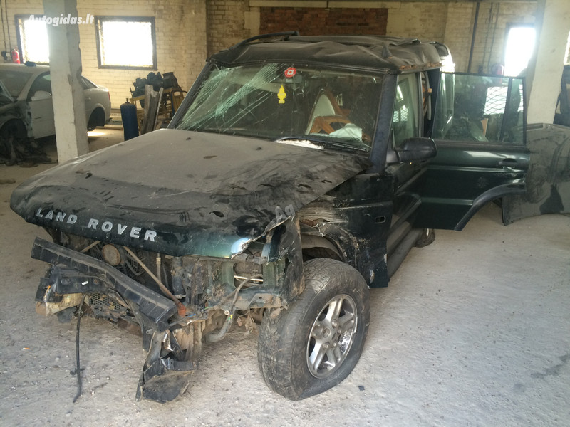 Land-Rover Discovery II 2003 y. parts