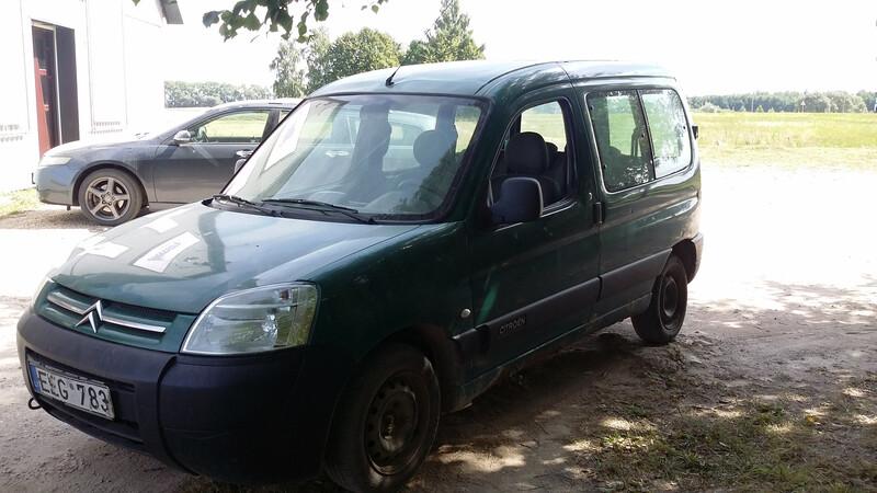 Peugeot Partner I 2005 m. dalys
