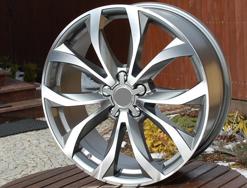 Audi R18 lengvojo lydinio  ratlankiai