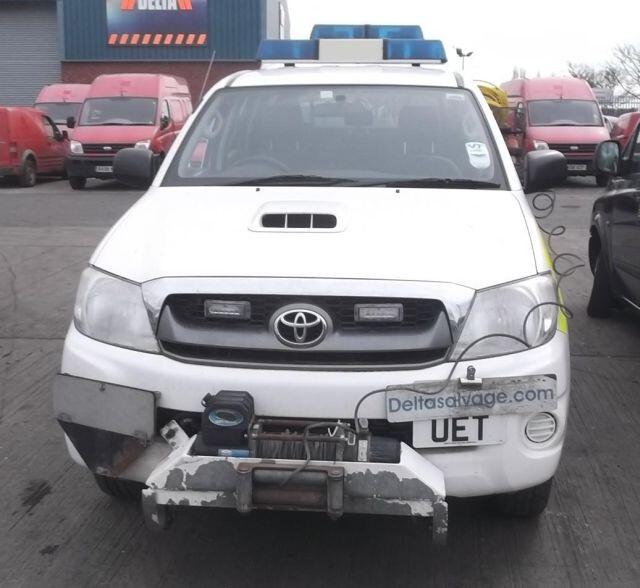 Toyota Hilux 2008 г. запчясти