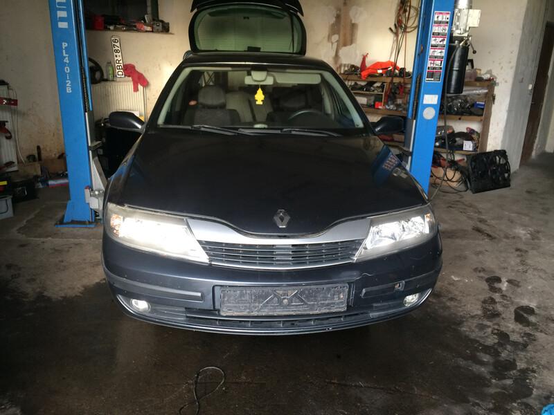 Renault Laguna II 2003 y. parts