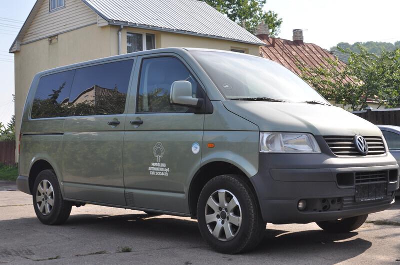 Volkswagen Transporter T1 2005 m dalys