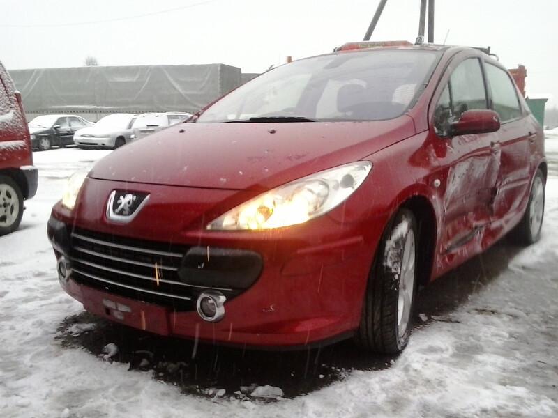 Peugeot 307 II 2007 m. dalys