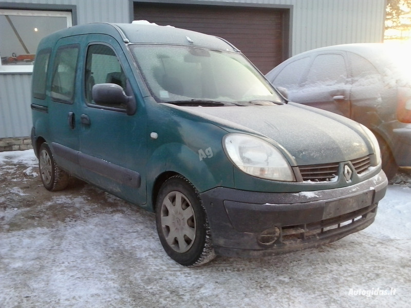 Renault Kangoo II 2005 m. dalys