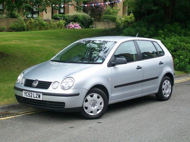 Volkswagen Polo IV 2002 m dalys