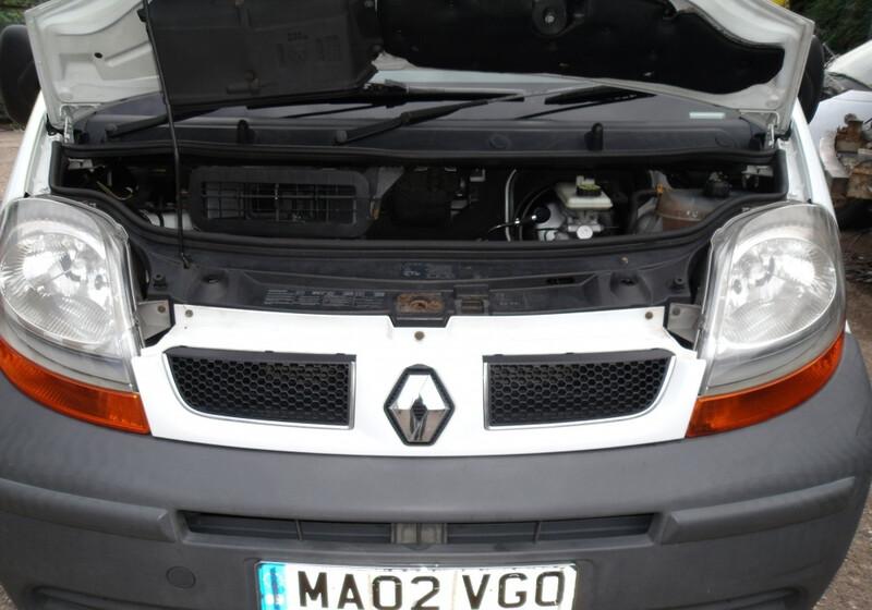 Renault Trafic 2003 m dalys