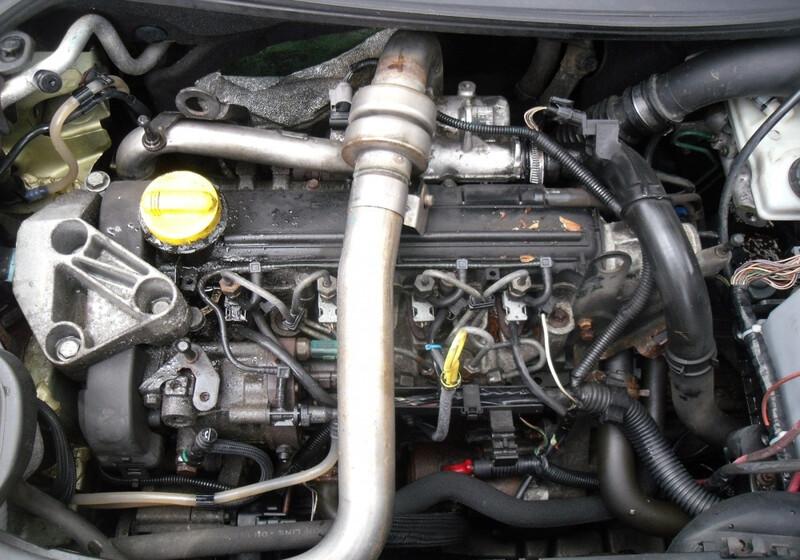 Renault Kangoo II 2004 m dalys