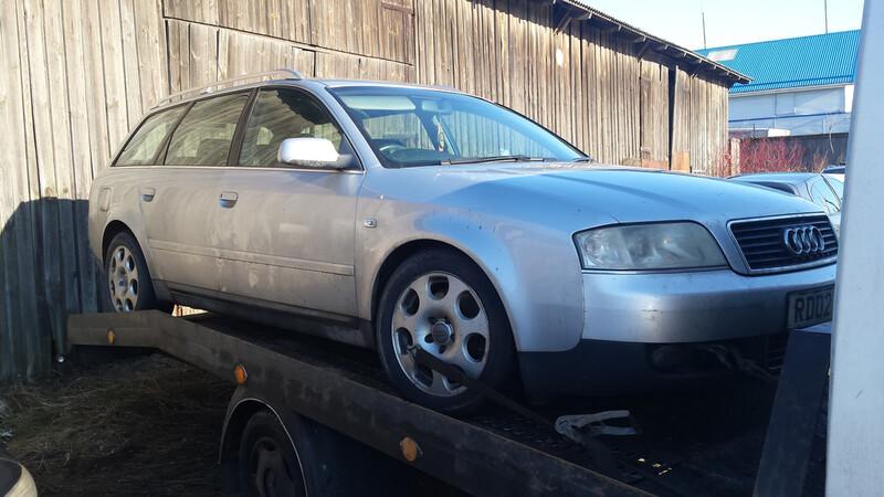 Audi A6 C5 114kw 2003 m. dalys