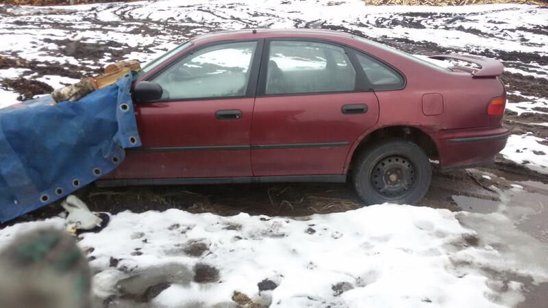 Honda Accord V 1995 m. dalys