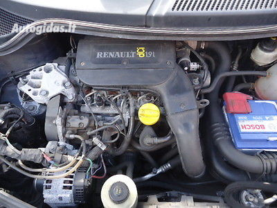 Renault Scenic Rx4 2000 m dalys