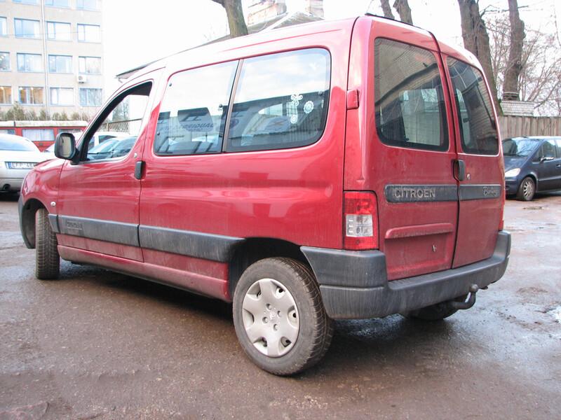 Citroen Berlingo I 2007 m dalys
